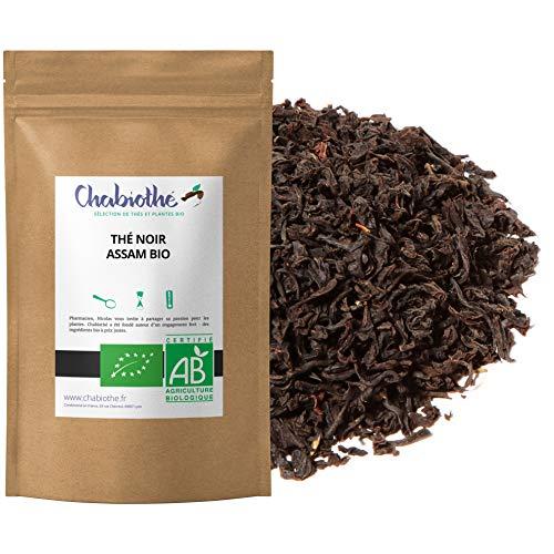 Thé noir Assam Bio 200g - sachet biodégradable