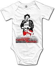 Novelty Baby Onesie Texas Chainsaw Massacre Splatter Subway Romper Onesie Jumpsuit