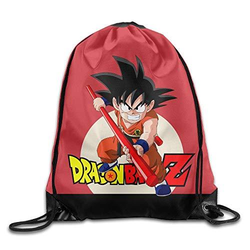JIMSTRES DBZ Gym Drawstring Backpack Sport Bags