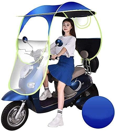 NIHE Cubierta de Lluvia Paraguas Universal para Scooter de Motor de Coche Cubierta de Lluvia para Motocicleta, Movilidad Plegable para Scooter Toldo para Scooter