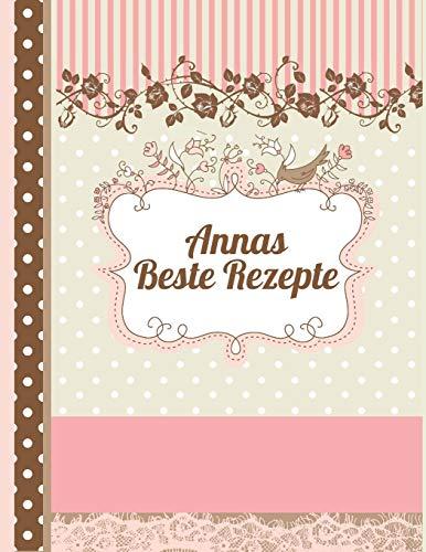 Annas Beste Rezepte: Das personalisierte Rezeptbuch