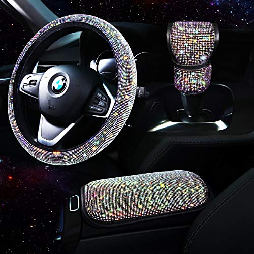 TZARROT Bling Car Accessories se...