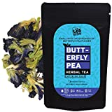 Butterfly Pea Flower Tea for Skin Glow and good Health (25 Gm), 100% Organic, Steep as Hot or Iced, Caffeine Free (50 Cups)