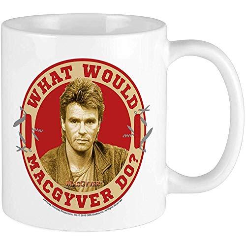 Kaffeetasse Was würde Macgyver tun? Tasse Einzigartige Kaffeetasse, Kaffeetasse