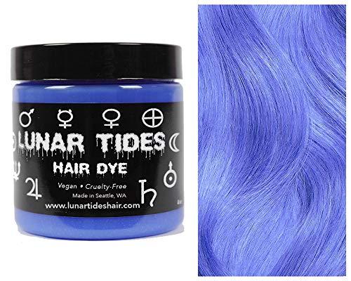Lunar Tides Haarfärbemittel Semipermanenter Haarfarbstoff Moon Stone Blau