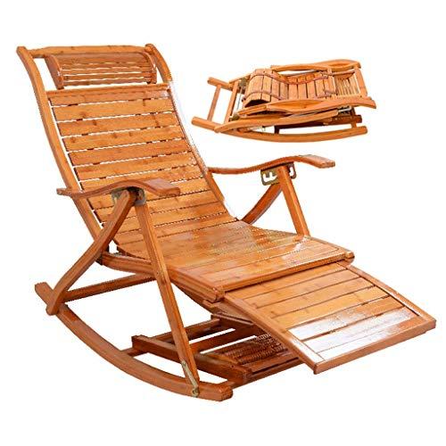 WFFF Folding Lounge Chair Outdoor Zero Gravity Freestyle Rocker Garden Outdoor Relaxer Lounger Recliner Outdoor Yard Beach