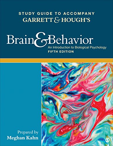 Price comparison product image Study Guide to Accompany Garrett & Hough's Brain & Behavior: An Introduction to Behavioral Neuroscience