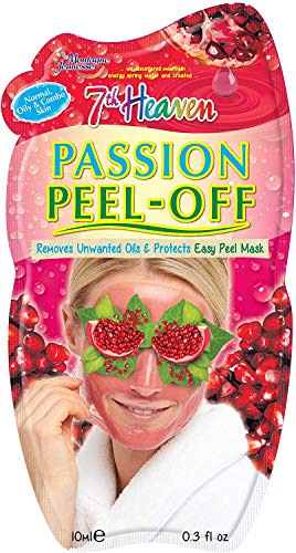 Montagne Jeunesse Mascarilla Peel-Off Anti Puntos Negros Passion Pulpa de Granada - 10 ml, Verde