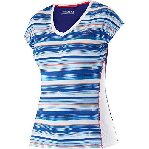 Head Mujer Oberbekleidung ANN (Cuello En V Camiseta, Todo el año, Mujer, Color Turquesa, tamaño XS