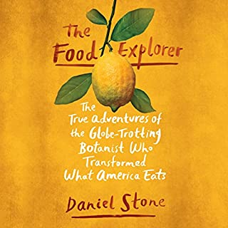 The Food Explorer audiobook cover art