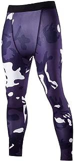 Mogogo Mens Breathable Camo Muscle Sexy Yoga Stretchy Running Jogger Bottom Pants