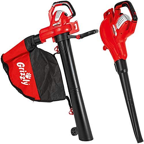 Grizzly Tools Elektro Laubsauger ELS 3027 E Combi, 3in1, Blasen, Saugen, Häckseln, 3000 W