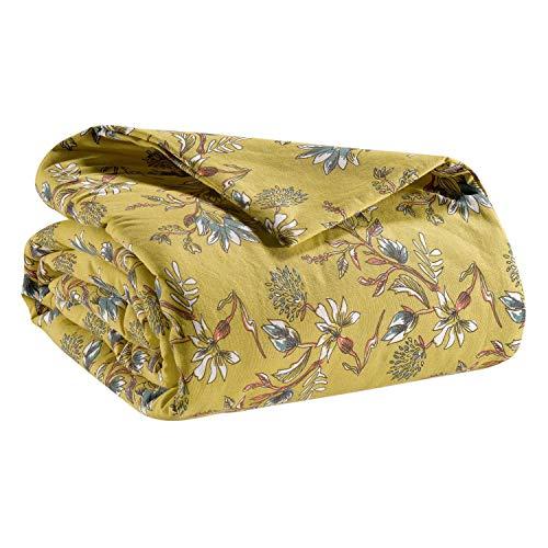 Vivaraise - Couvre-lit - Couette de lit - Couvre-lit Enveloppe 100% Coton Garnissage 100% Polyester - Couvre-lit Chaud - Couverture Douce - 240 x 260 - Porto