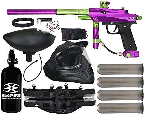 Action Village Azodin KDIII Paintball Gun Legendary Package Kit (Polished Purple/Polished Green)