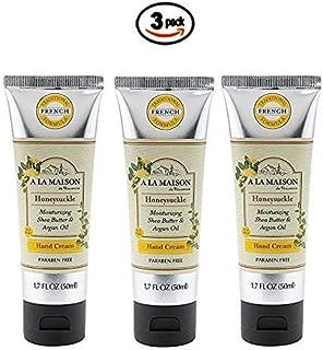 A La Maison Hand Cream Honeysuckle 1.7 Ounce 3 Pack