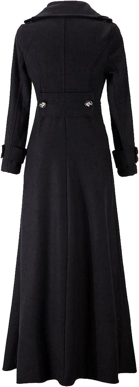 Honey GD Women's Winter Elegant Long Overcoat
