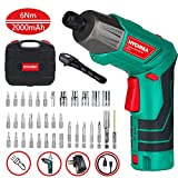 Best Cordless Screwdrivers - Electric Screwdriver, HYCHIKA MAX Torque 6 N.m, 3.6V Review