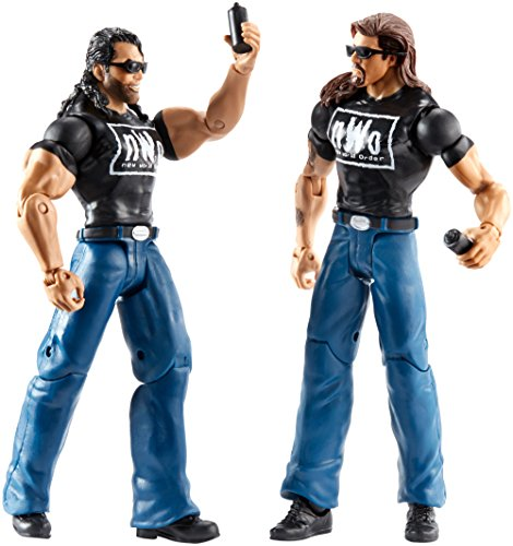 WWE Battle Pack The Outsiders Action Figure, 2 Pack