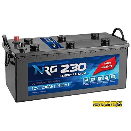 NRG Premium LKW Batterie 230Ah - 1450A/EN Starterbatterie ersetzt 220Ah 225Ah