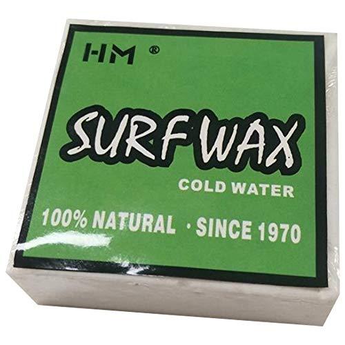 Kuinayouyi Cera de surf antideslizante universal para tabla de surf Skimboard Skateboard ceras para tabla de surf accesorio – Cera de agua fría