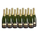 Crémant d'Alsace Brut Weißwein - Domaine Gueth - Sekt - g.U. - Elsass Frankreich - Rebsorte Pinot Blanc, Pinot Auxerrois - 12x75cl