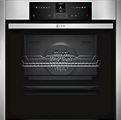NEFF B55CR22N0 ingebouwde oven N70 / 60 cm / A+ / 71 l / roestvrij staal / Slide&Hide / ShiftControl / Pyrolyse / 12 bedrijfsmodi*