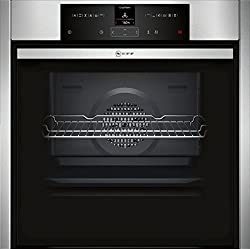 NEFF B45CR22N0 built-in oven N70 / 60 cm / 71 l / stainless steel / A + / Slide & Hide / EasyClean / 12 operating modes