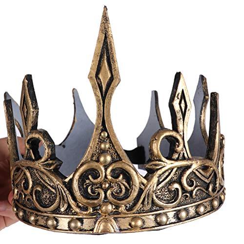 Orl Königskrone in gold Krone zum König Kostüm an Karneval Fasching