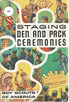 Paperback Staging Den and Pack Ceremonies Book