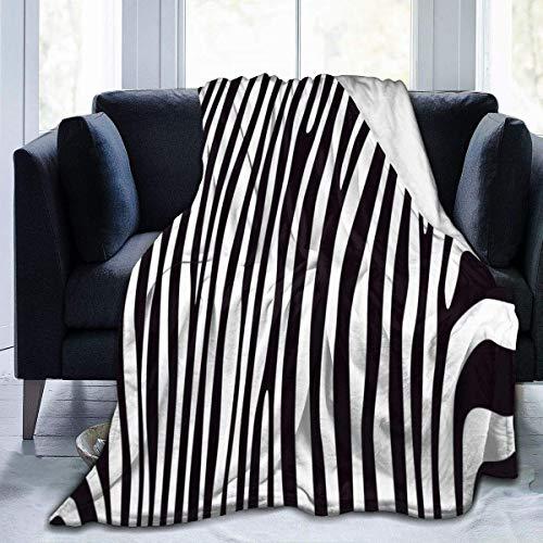 Etryrt Manta, Animal Zebra Tiger Print 01 Throw Blanket