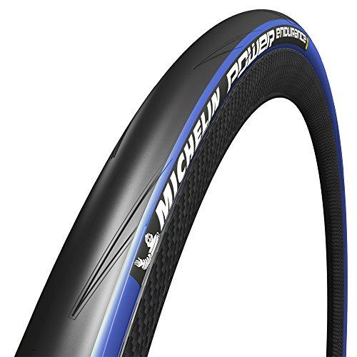 Michelin Power Endurance Fahrrad Bereifung, Schwarz und blau, 28