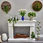 22in-dutch-tulip-artificial-arrangement-in-blue-colored-vase