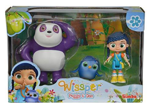 Simba 109358416 109358416-Wissper Figurenset Peggy und Dan, Bunt