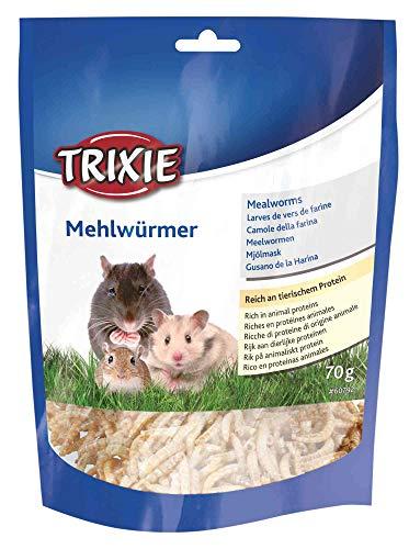 Trixie 60792 Mehlwürmer, getrocknet, 70 g