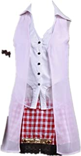 Final Fantasy 13 FF13 Serah Farron Cosplay Costume