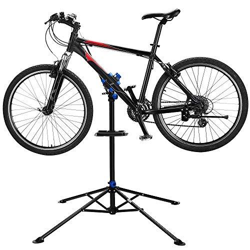 LSJGG Soporte De Reparación De Bicicleta A Domicilio Ajustable Mantenimiento Plegable Mantenimiento De Bicicletas Taller De Reparación De Bicicletas Extensible-Robusto Y Duradero