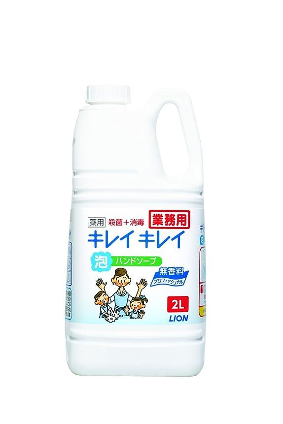 パワーウェイトレスバラバラにする【大容量】キレイキレイ 薬用泡ハンドソープ プロ無香料2L