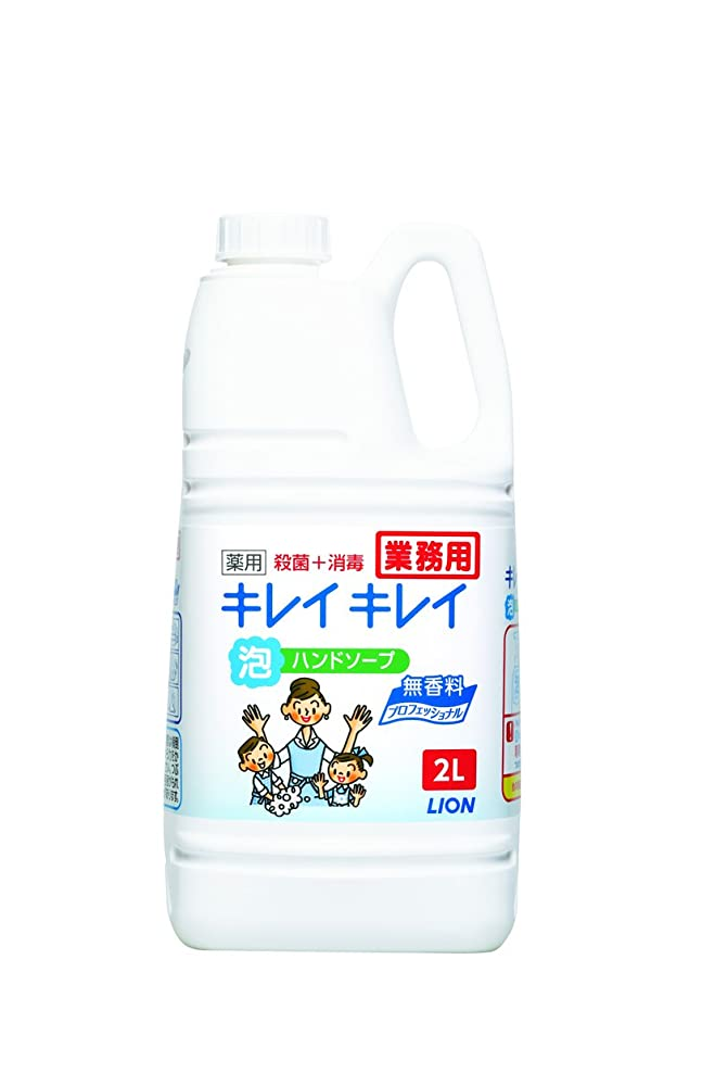 警察署面倒バズ【大容量】キレイキレイ 薬用泡ハンドソープ プロ無香料2L