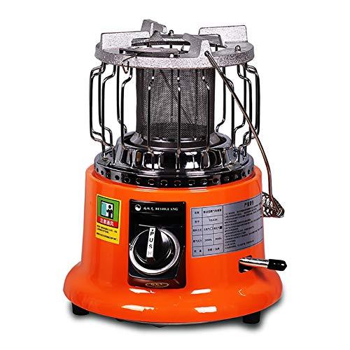 LIRONGXILY Calefactor de Gas LP para Exterior Calentador de Gas, Balcón Jardín Estufa, el Consumo de energía 80-150g / H, Power 1-2.5KW, Área de Uso 10-30 □
