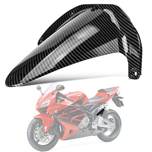 PSLER Rear Fender Mudguard Tire Hugger for Honda CBR600RR 2003 2004 2005 2006 (Carbon)