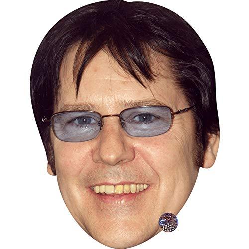 Celebrity Cutouts Shakin' Stevens (Glasses) Maske aus Karton