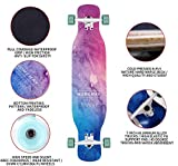 Zoom IMG-1 42 inch skateboard longboard twin