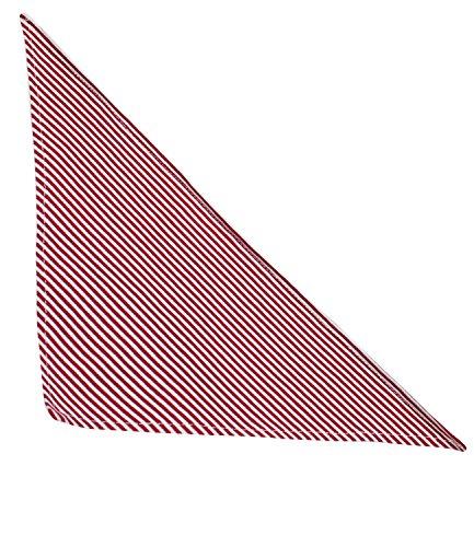 EveryHead Fiebig Pañuelo Infantil Para El Cuello Tela De Triángulo Nicki Paño Del Bebé Eructar Babero Niño Pequeño Con Rayas Niños (FI-88256-S16-BU4-8-OS) incl Hutfibel