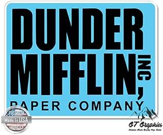 GT Graphics The Office Dunder Mifflin - Vinyl Sticker Waterproof Decal