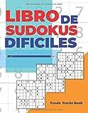 Libro De Sudokus Dificiles: Juegos De Lógica Para Adultos