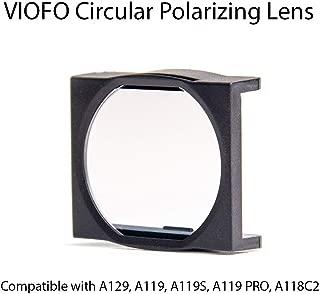 VIOFO Circular Polarizing Lens (CPL), Updated Model Compatible with A129, A119 V2 and V3, A119S, A119 PRO, A118C2