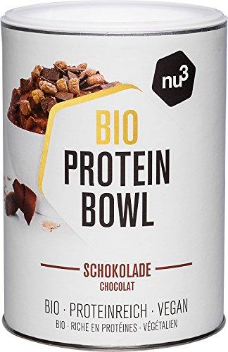 nu3 Protein Bowl orgánico sabor chocolate - 300g de gachas