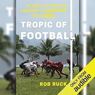 Tropic of Football audiobook cover art
