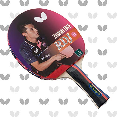Butterfly RDJ S1 Shakehand Table Tennis Racket - Good Spin. Better Speed. Even Better Control - RDJ Series - Recommended For Beginning Level Players - International Table Tennis Federation Approved