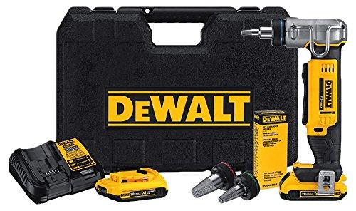 DEWALT DCE400D2 20V Max 1' Pex Expander Tool Kit